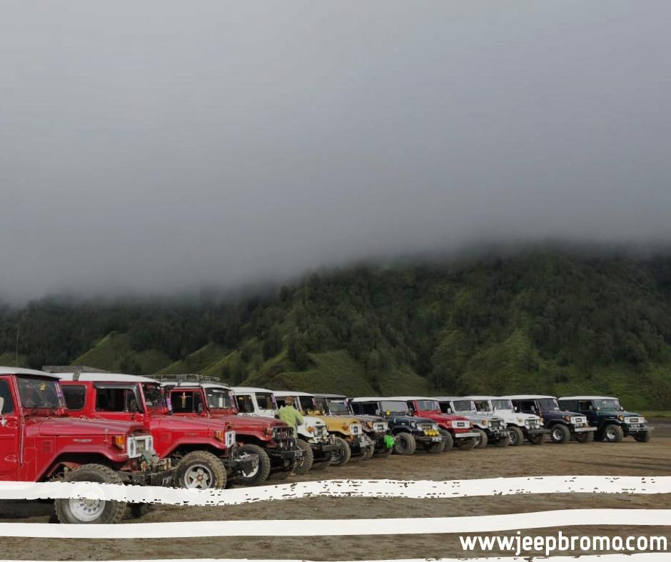sewa jeep bromo 2019
